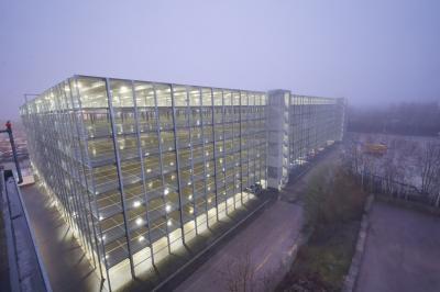 Parkregal BLG AutoTerminal GmbH, Saal a.d. Donau